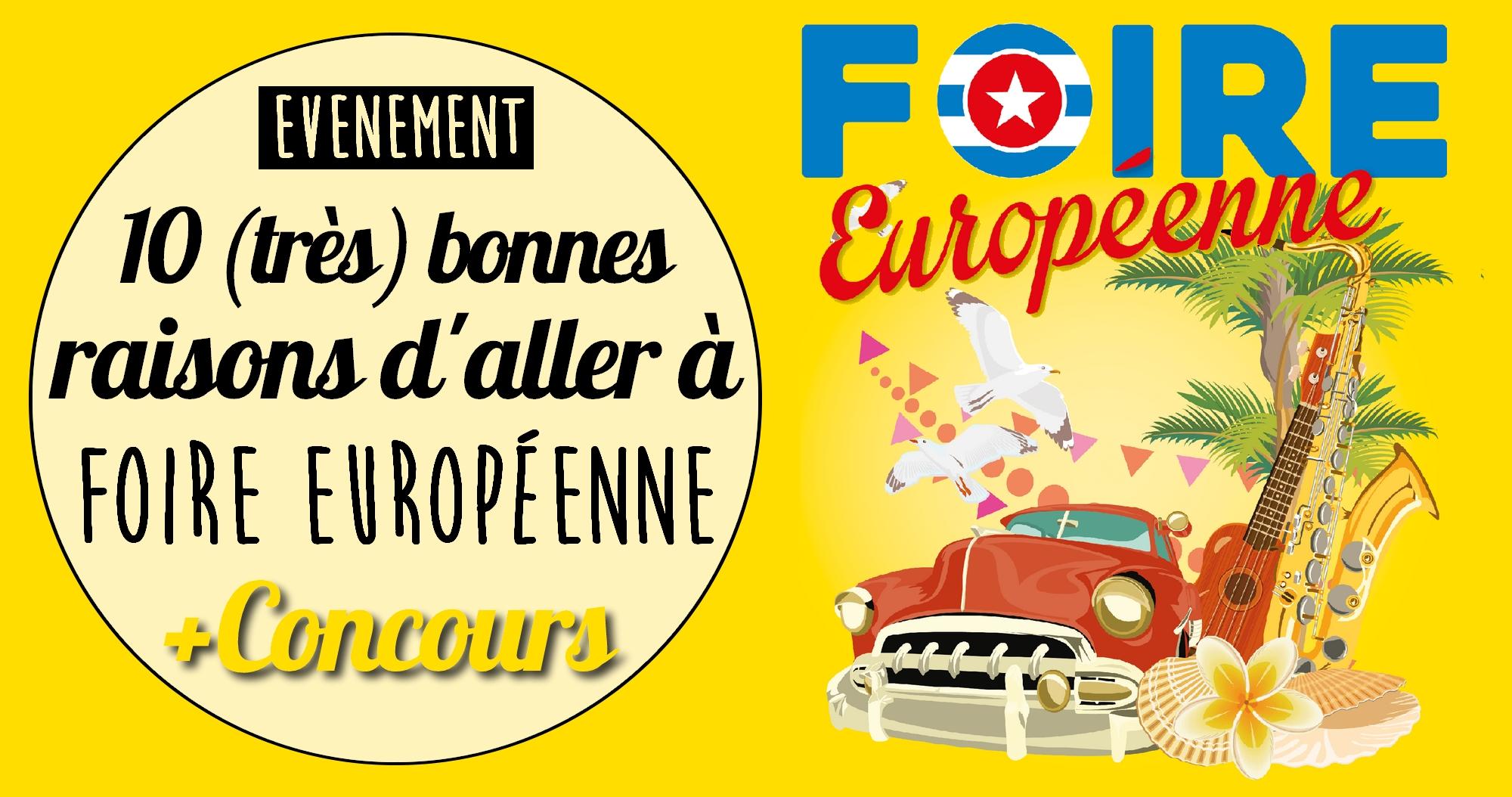 Strasbourg: 10 (très) bonnes raisons d'aller à la Foire Européenne