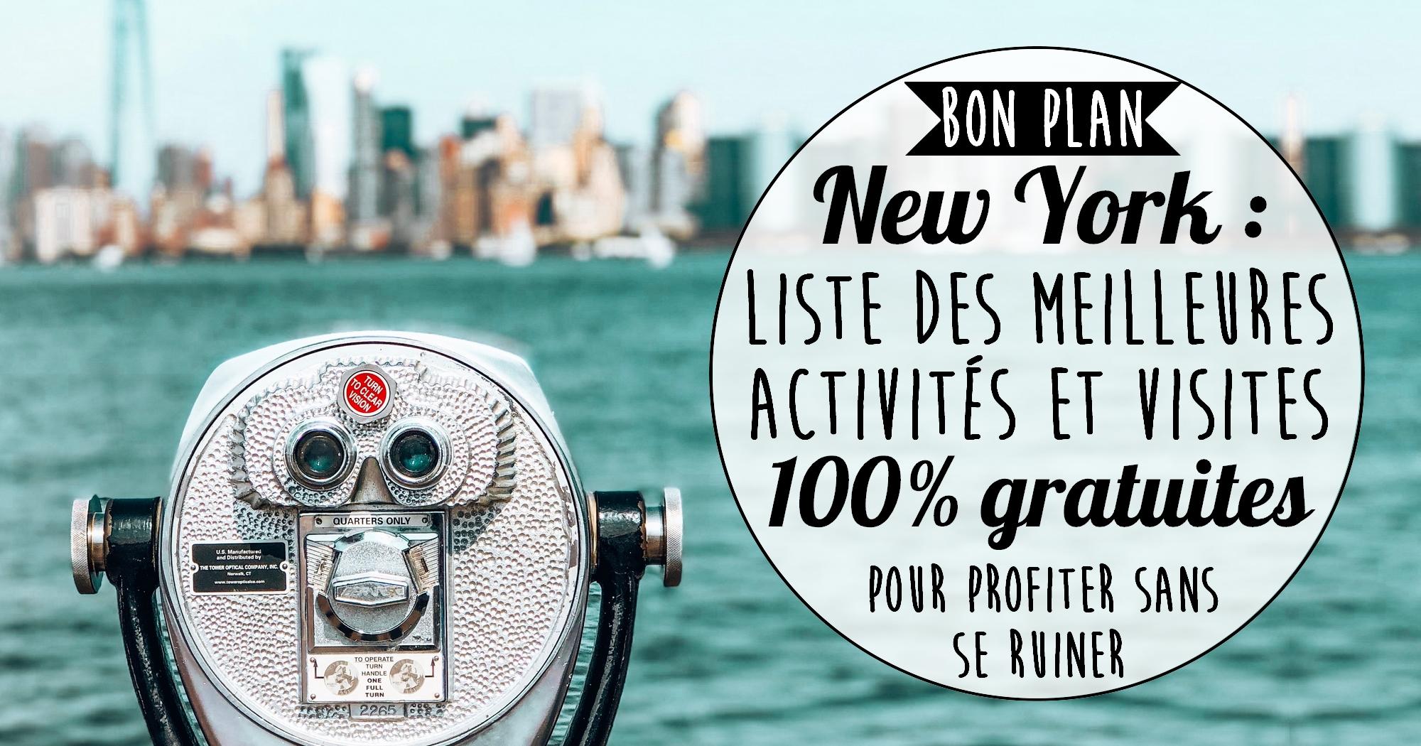 TOP 15 des meilleures activités GRATUITES à faire à New York