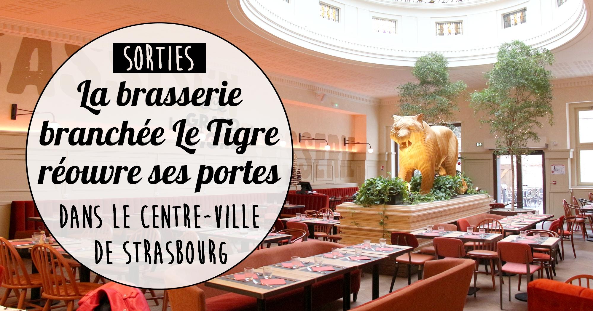 Strasbourg : la brasserie branchée Le Tigre réouvre enfin ses portes !