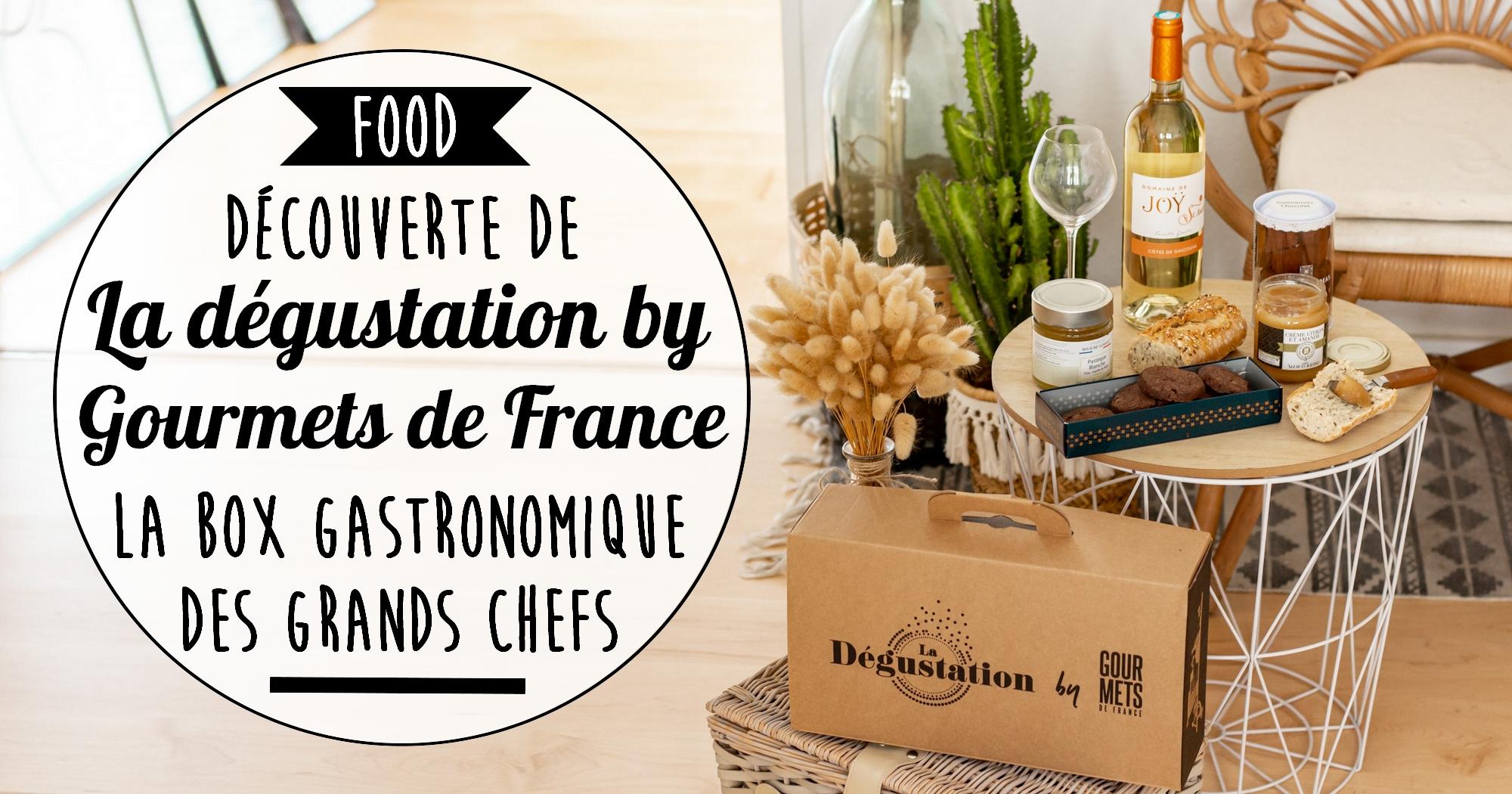 Découverte de La dégustation by Gourmets de France, la box gastronomique des grands Chefs