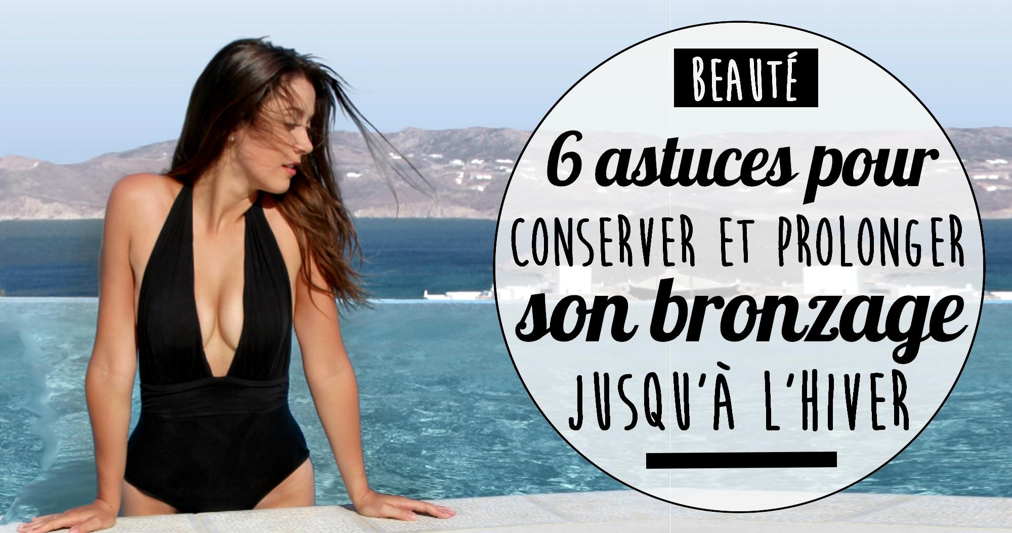 6 astuces pour conserver et prolonger son bronzage jusqu'à l'hiver