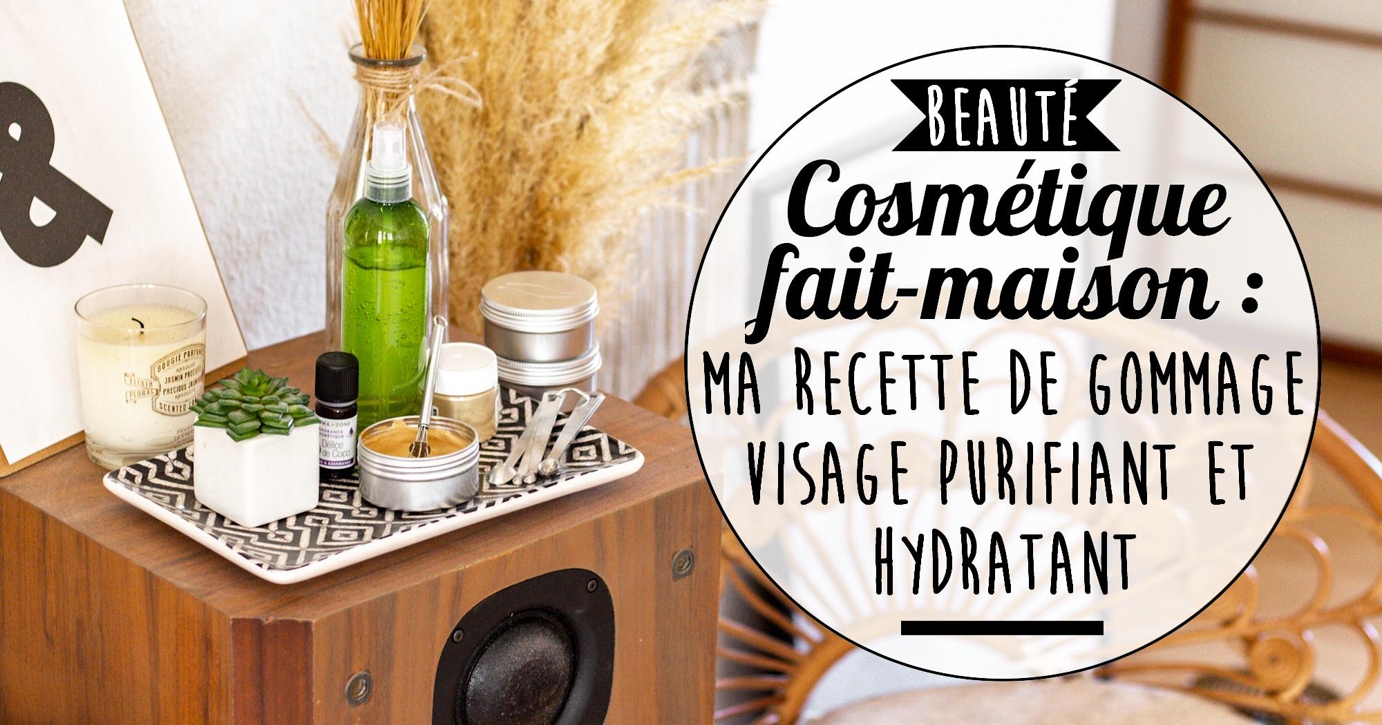 Cosmétique maison : ma recette de gommage éclat purifiant et hydratant
