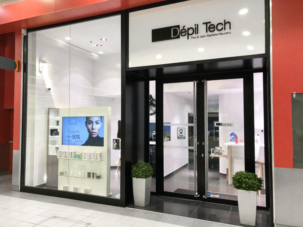 Centre épilation définitive à la lumière pulsée Depil Tech Illkirch près de Strasbourg