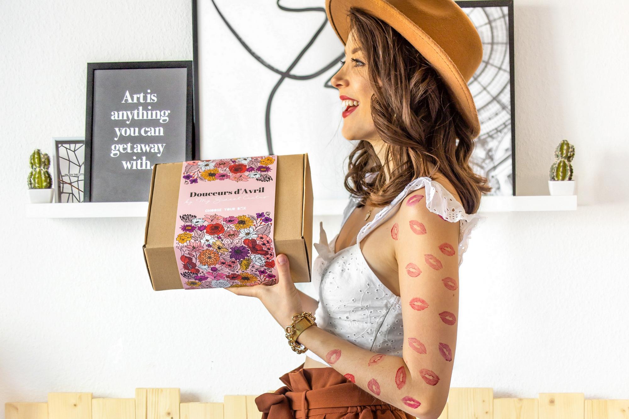 NOUVEAUTÉ : Découvrez les surprises de la box que j'ai co-créée (mode, beauté, déco, food…)