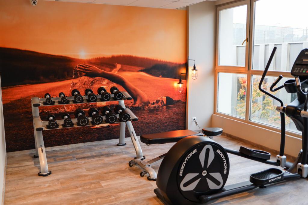 hôtel la maison - mulhouse centre salle de sport