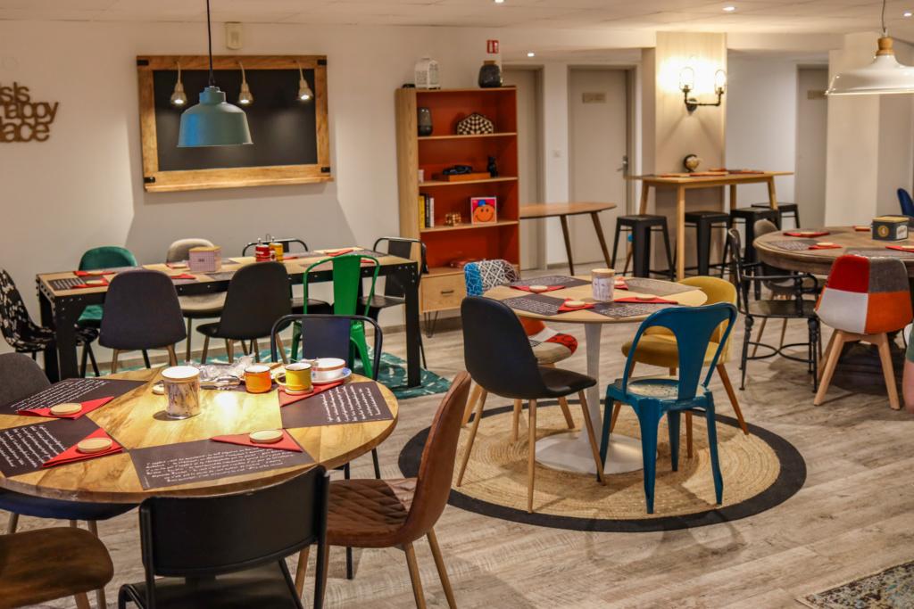 hôtel la maison - mulhouse centre petit déjeuner cuisine