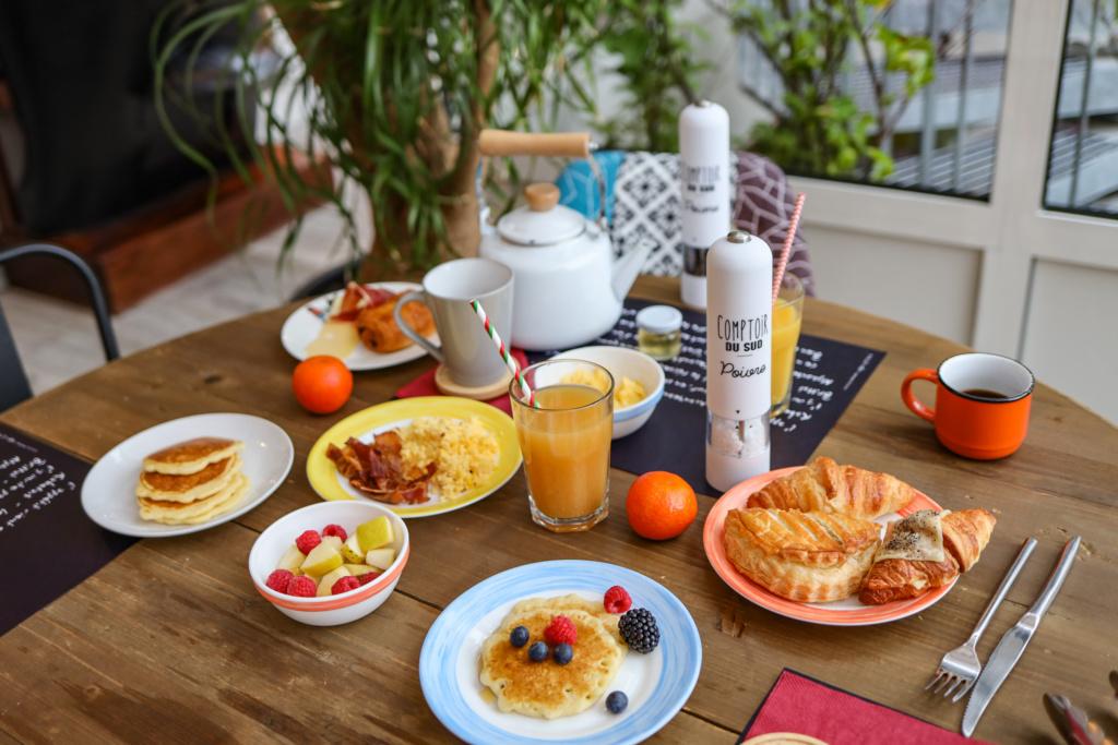 hôtel la maison - mulhouse centre petit déjeuner