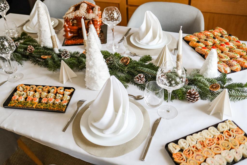 tuto DIY bricolage pour une belle décoration de table de fête pour Noël