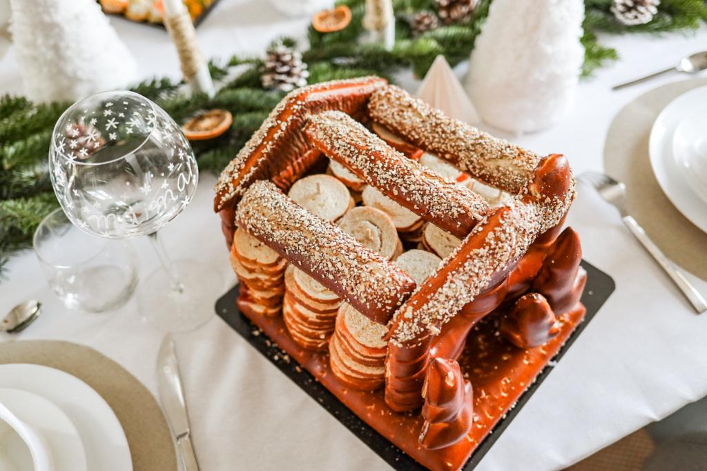 Apéritif de Noël pour une table de fête réussie
