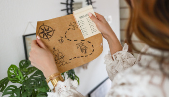 Organiser une chasse au trésor : tuto + indices à imprimer