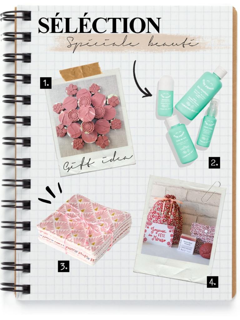 sélection d'idées cadeaux de fête des mères made in France spéciales beauté