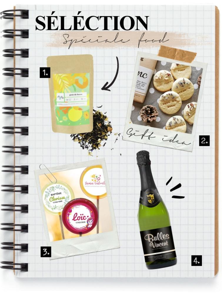 sélection d'idées cadeaux de fête des mères made in France spéciales food