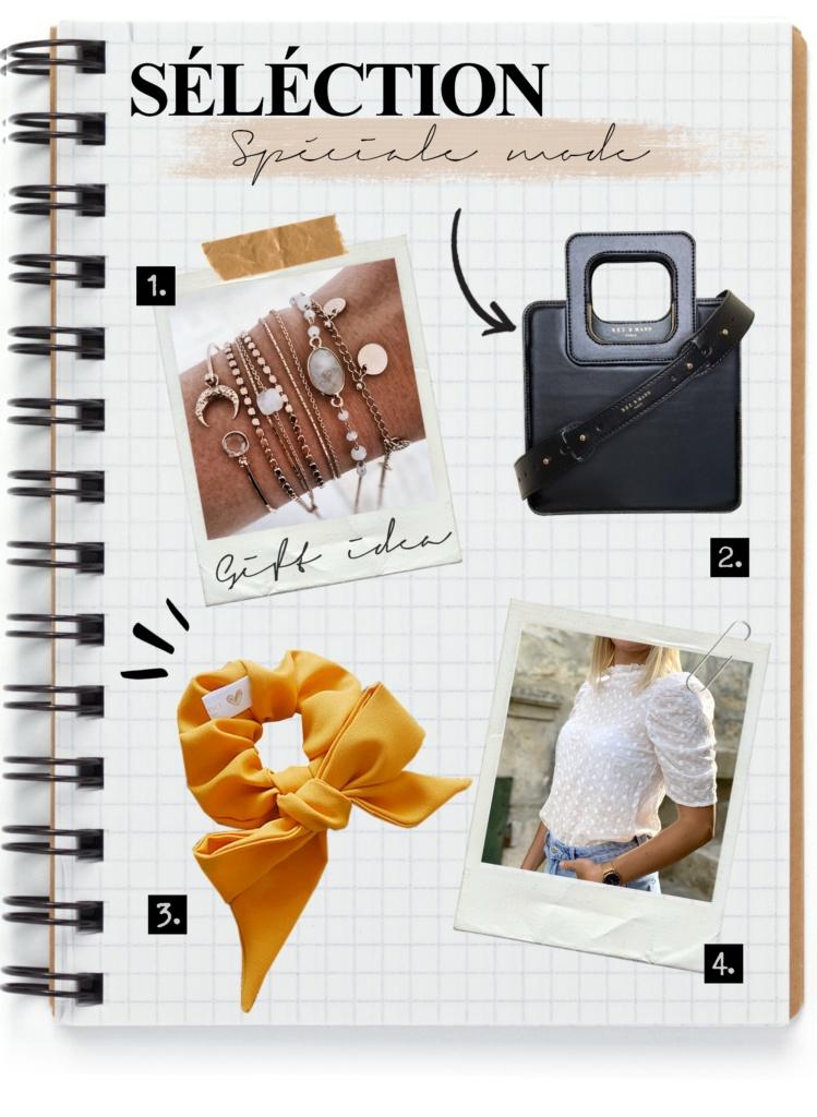 sélection d'idées cadeaux de fête des mères made in France spéciales mode