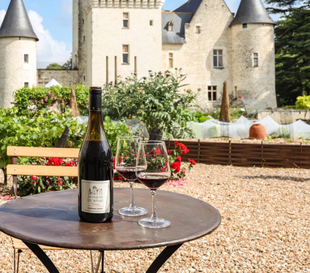 séjour dégustation vin  en val de loire -  châteaudu rivau